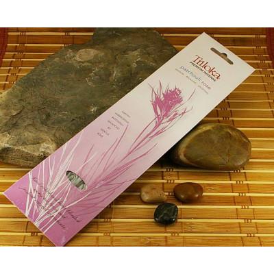 Encens Triloka Premium patchouli et rose