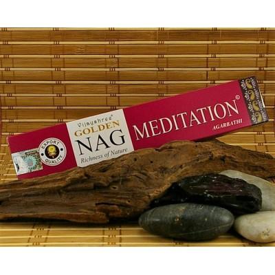 Encens Vijayshree Golden Nag Méditation