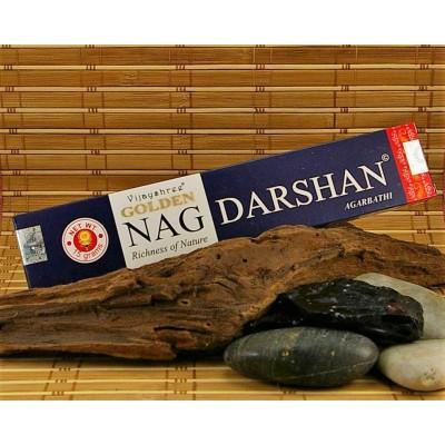 Encens Vijayshree Golden Nag Darshan ( Bois de Santal)