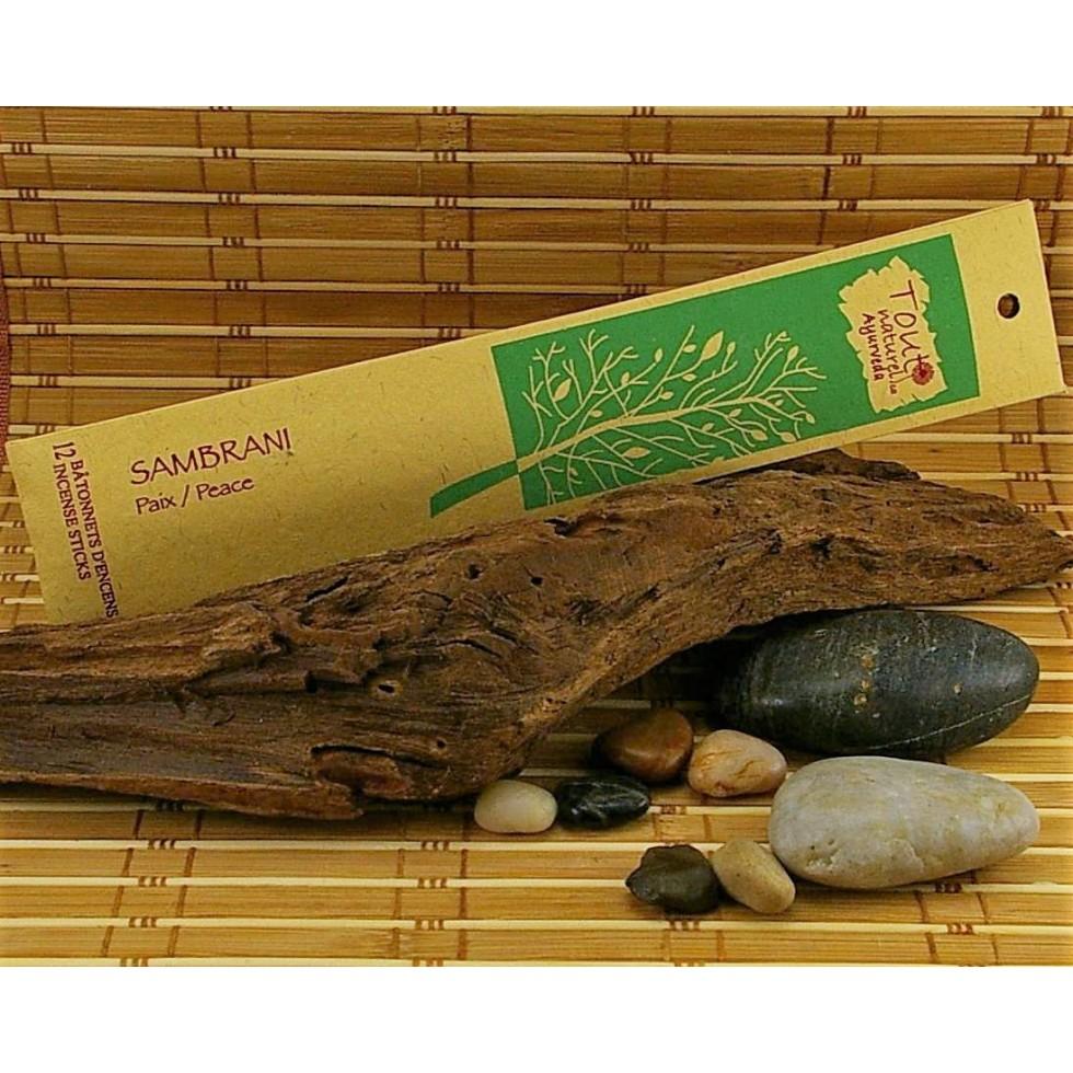tout naturel ayurveda sambrani incense - boutique encensnaturelpur com