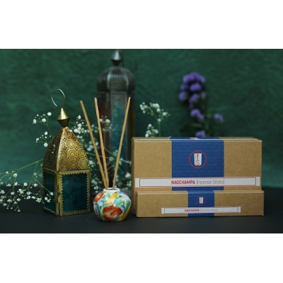 Satya Srinivas Blue Nag Champa incense